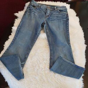 Silver Jeans Suki Size 33/32